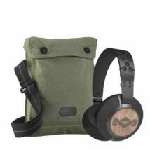 Marley Liberate XL Bluetooth Fejhallgató Fekete +Ajándék vászontáska