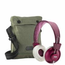 Marley Positive Vibration PURPLE fejhallgató+Ajándék vászontáska