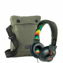 Marley Positive Vibration RASTA fejhallgató+Ajándék Vászontáska