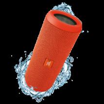 JBL Flip 3 vízálló bluetooth hangszóró, narancs