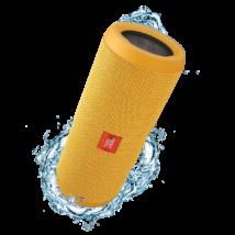 JBL Flip 3 vízálló bluetooth hangszóró, sárga
