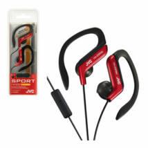 JVC HA-EBR80 SPORT MOBIL PRO fülhallgató, piros