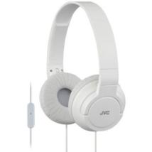 JVC HA-SR185R COLOURFUL LIGHTWEIGHT mikrofonos fejhallgató fehér
