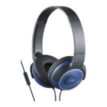 JVC HA-SR225A Premium Sound mikrofonos fejhallgató kék