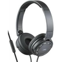 JVC HA-SR525B Premium Sound mikrofonos fejhallgató fekete