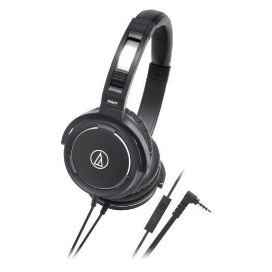 Audio-Technica ATH-WS55i fekete fejhallgató