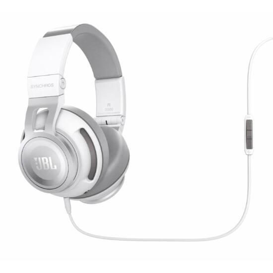 JBL Synchros S500 fejhallgató, fehér