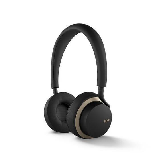 JAYS u-Jays fejhallgató android fekete arany