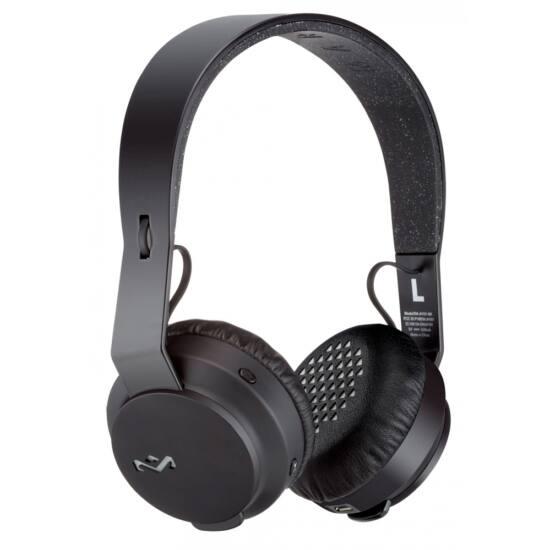 Marley (EM-JH101-BK) REBEL BT on-ear Bluetooth Fejhallgató