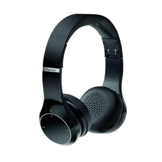 PioneerSE MJ 771BT-K Bluetooth fejhallgató fekete