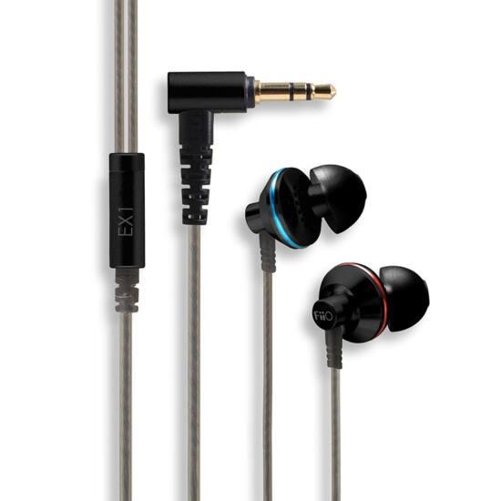 FIIO EX1 IEM (In-Ear Monitor) Fülhallgató Fekete