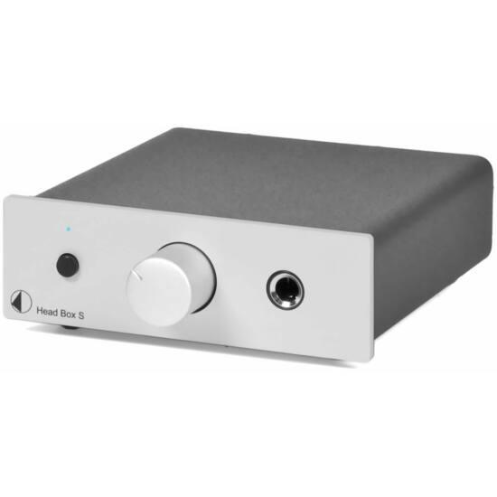 Pro-Ject Head Box S fejhallgató erősítő ezüst