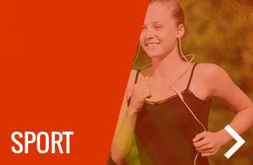 Vízálló, strapabíró, stabil sport fülhallgatók, edzéshez, futáshoz