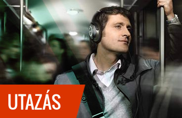 Vonaton, repülön, autóban, utazzon bármivel, kényelmes és zajszűrős fejhallgatók