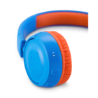 JBL JR300 BT vezeték nélküli gyerek fejhallgató, kék-narancs