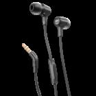 JBL E15 fülhallgató, fekete