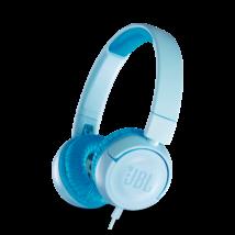 JBL JR300 gyerek fejhallgató, kék (Bemutató darab)