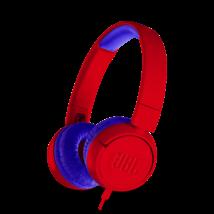 JBL JR300 gyerek fejhallgató, piros (Bemutató darab)