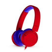 JBL JR300 gyerek fejhallgató, piros