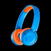 JBL JR300 BT vezeték nélküli gyerek fejhallgató, kék-narancs (Bemutató darab)