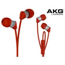 AKG Y 23  Univerzális vezérlős fülhallgató, piros