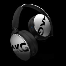 AKG Y50BT Bluetooth fejhallgató, ezüst