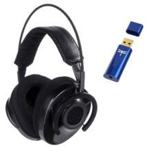 AudioQuest NightHawk Carbon fejhallgató + Dragonfly Cobalt USB DAC