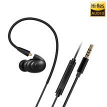 FiiO F9 IEM fülhallgató mikrofonos távirányítóval, fekete