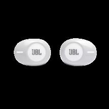JBL TUNE 125TWS True Wireless fülhallgató, fehér (Bemutató darab)