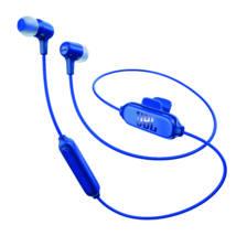 JBL E25 BT Bluetooth fülhallgató, kék (Bemutató darab)