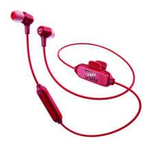 JBL E25 BT Bluetooth fülhallgató, piros (Bemutató darab)