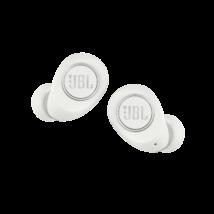 JBL Free X True Wireless fülhallgató, fehér + JBL szövetmaszk