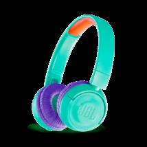 JBL JR300 BT vezeték nélküli gyerek fejhallgató, türkiz