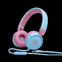 JBL JR310 vezetékes gyerek fejhallgató, kék