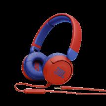 JBL JR310 vezetékes gyerek fejhallgató, piros