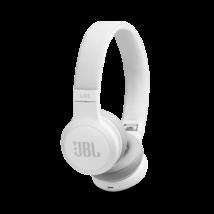 JBL Live 400BT Bluetooth fejhallgató, fehér (Bemutató darab)