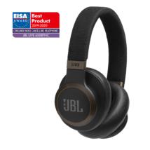 JBL Live 650BTNC zajszűrős Bluetooth fejhallgató, fekete (Bemutató darab)
