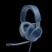 JBL Quantum 100  Gamer fejhallgató, kék