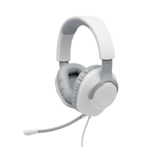 JBL Quantum 100  Gamer fejhallgató, fehér (Bemutató darab)