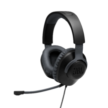 JBL Quantum 100  Gamer fejhallgató, fekete (Bemutató darab)