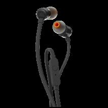 JBL T160 fülhallgató, fekete (Bemutató darab)