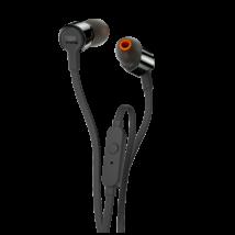 JBL T210 fülhallgató, fekete