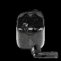 JBL TUNE 225TWS True Wireless fülhallgató, átlátszó-fekete