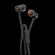 JBL T290 fülhallgató, fekete