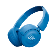 JBL T450 BT bluetooth fejhallgató, kék Bolti bemutató darab