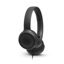 JBL T500 fejhallgató, fekete (Bemutató darab)