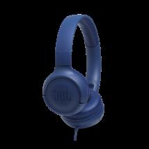 JBL T500 fejhallgató, kék