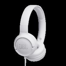 JBL T500 fejhallgató, fehér (Bemutató darab)