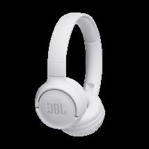 JBL T500BT bluetooth-os fejhallgató, fehér (Bemutató darab)
