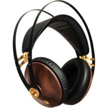 Meze 99 CLASSICS fejhallgató, diófa-arany